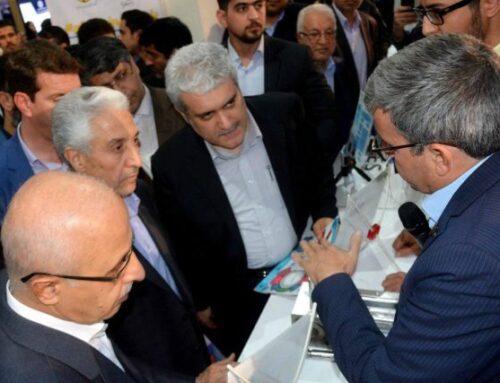 رونمایی از طرح سوخت مایع توربین های گازی شرکت صافات انرژی یزد توسط وزیر علوم