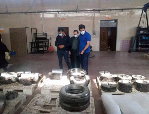 بازدید کارشناسان ذوب آهن اصفهان از شرکت صافات انرژی یزد