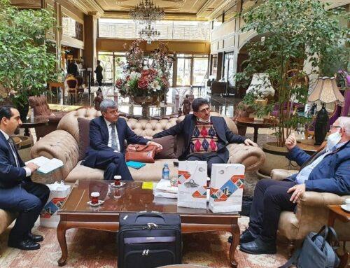 جلسه مدیرعامل شرکت برای ایجاد برند مشترک در ترکیه